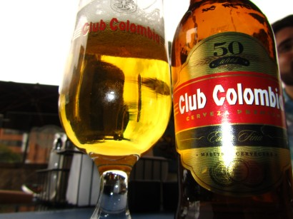 Club Colombia - Local Beer - Bogota, Colombia