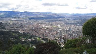 Bogota, from Monserrate - Bogota, Colombia